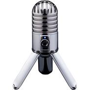 Samson Meteor Mic Micrófono Condenser Usb Con Funda Y Cable