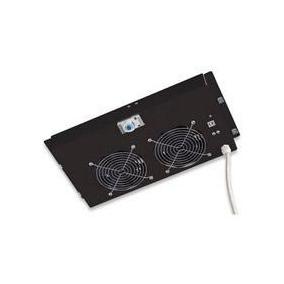 Ventilador Intellinet Con Termostado Para Gabinete De Cf-107