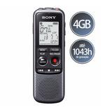 Gravador Digital Sony 4gb De Mão Com Alto Falante Icd-px240
