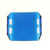 Mica Para Faro Led Cree 18w Color Azul Marino