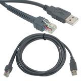 Cable Usb Para Lector Symbol Ls2208 Ls9208 Ls3578 M2007