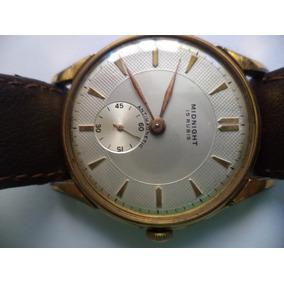 Reloj Midnight Enchapado Hombre Impecable