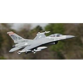 Super Kit F-16 De 8ch 70mm Fan Aeromodelo Elétrico