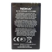 Bateria Nokia Original Bl-5j C3 5800 1320mah (2015) E2061