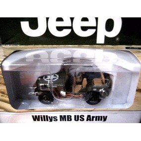 Mc Mad Car Jeep Willys Mb Us Army Militar Coleccion Auto