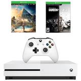 Xbox One S 1tb Assassins Creed Y Rainbow Six Siege Oferta !!