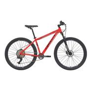 Bicicleta 12v Absolute Nero 29 Vermelha Trava No Guidão