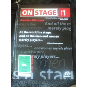 On Stage 1 - Amadeu Marques Com Cd - Inglês Ensino Médio