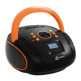 Som Portátil Boombox 5w Rms Lenoxx Com Usb - Bd108