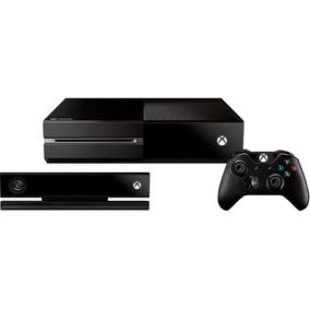 Console Microsoft Xbox One 500gb Com Kinect - 2 Jogos