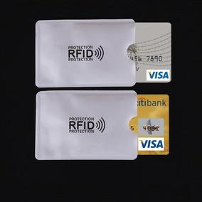 Protector Rfid De Tarjetas De Crédito Débito Evita Clonacion
