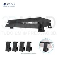 Pezinho Ps4 Playstation Fat Horizontal Suporte De Mesa