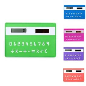 Calculadora Solar De Bolso Cartão Mini