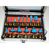 Fresas P/ Fresadora Router Tupi Widia 15 Pz Dowen Pagio