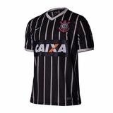 Camisa Nike Corinthians 2 Preta Listrada 2013 2014 Original