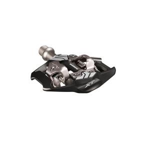 Pedal Spd Shimano Deore Xt Pd-m8020 Preto Com Tacos Sm-sh51