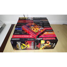 Caixas Para Jogos De Mega Drive Genesis Com Berço