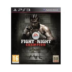 Fight Night Champion box Ps3 Regiao 2 Lacrado Promoção