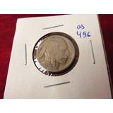 Bb#456 Usa Five Cent Buffalo Indio Americano 1937