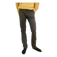 Pantalon Colegial - Gris / Azul - Blue Air Jeans