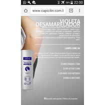Shampoo Matizador Importado Brasil + Ampolla