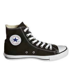 Zapatillas Mujer Converse Ct As Lino Hi Black