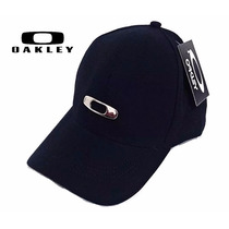 Boné Oakley Brand Preto Promoção