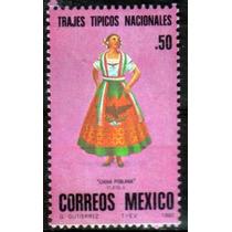 2233 México Trajes Típicos Serie Completa 3 S Mint N H 1980