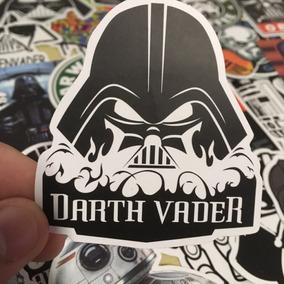 Adesivo Star Wars Darth Vader R2 D2 Kit C/25 Peças Sortidas