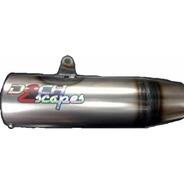 Escape Motomel 150 Cg Serie 2 Dech Laqueado Agarra En El Pe