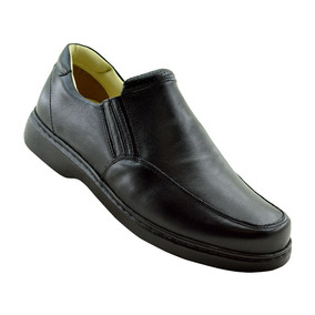 Sapato Casual Masculino 410 Doctor Shoes Preto