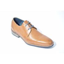 Zapato Hombre De Cuero, Para Vestir. Blood South Art: 6693