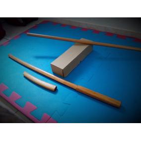 Conjunto De Armas Para Aikido - Bokken - Jo - Tanto