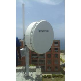 Antena Parabólica 34 Dbi ,rocket M5,internet,enlaces 5.8ghz