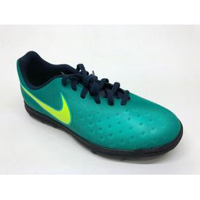 size 40 f34ce 1251b Tenis Fútbol Niños Nike Magista Ola Ii Turf Verdes 844416375
