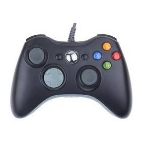 Controle Rubber Pad Xbox 360 Maxprint Com Fio