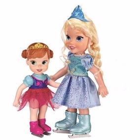 Disney Frozen - Anna E Elsa Com Patins - Sunny - Lacrada
