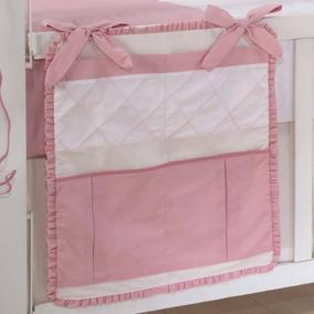 Porta Treco Camafeu Para Quarto De Bebê 1 Peça Rosa