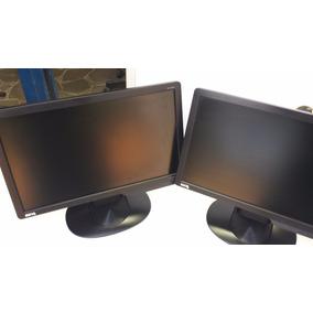 04 Monitores Benq 15.6 Pol. G610hda Preto Com Riscos Tela