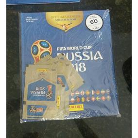 Álbum Da Copa Do Mundo Rússia 2018 + Brindes