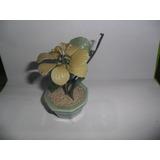 Adorno Flor Maceta Miniatura Hoja Petalo Floral Piedra