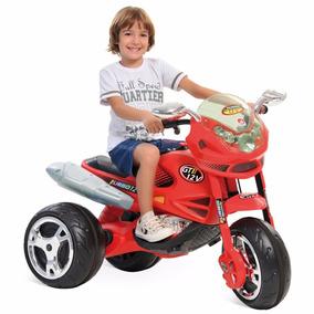 Super Moto Gt2® Turbo Elétrica Vermelha 12v Bandeirante