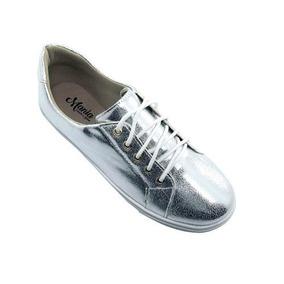Sapato Tênis Keds Feminino Salto Baixo Prata Em Promoção