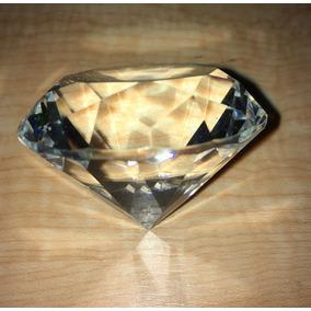 60 Pzs Figura Cristal Diamante 5 Cm Transparente Vidrio