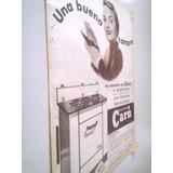 Antigua Publicidad Cocinas Caru - Hogar Argentina