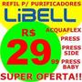 Filtro Refil Para Purificador Acqua Flex Libell