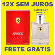 Perfume Ferrari Red Scuderia Novo - 125ml Original Lacrado