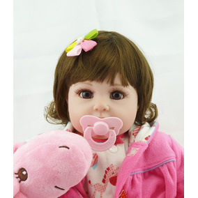 Oportunidade! Bebe Reborn Dormind Boneca 55 Cm Sob Encomenda