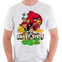 Camiseta Angry Birds Camisa Blusa Jogo Android Ios Promoção
