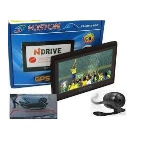 Gps Automotivo Foston 4.3 Tela Tv Digital Com Câmera De Ré